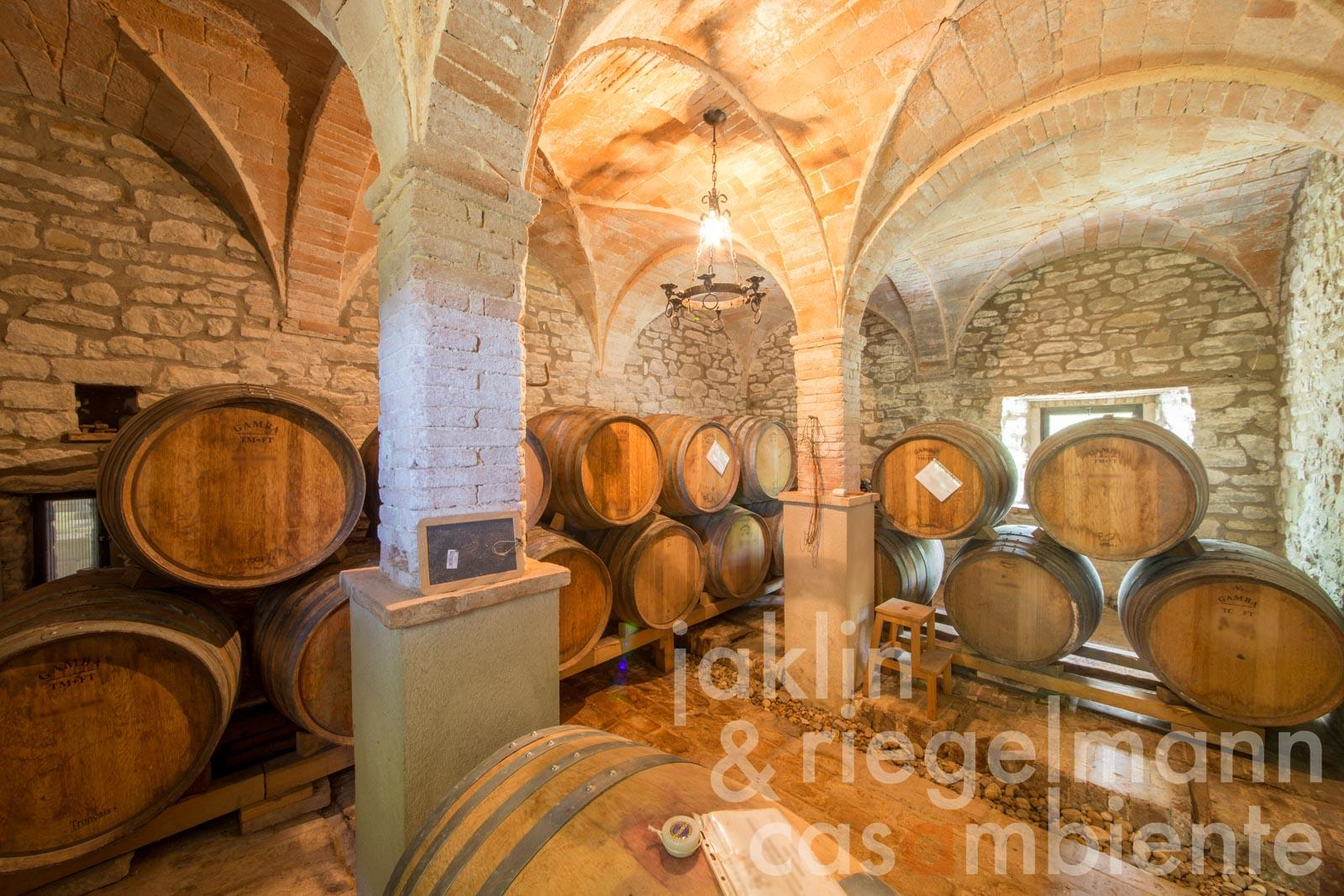 For sale in Emilia Romagna, Italy, a fine wine producer of award-winning Sangiovese wines