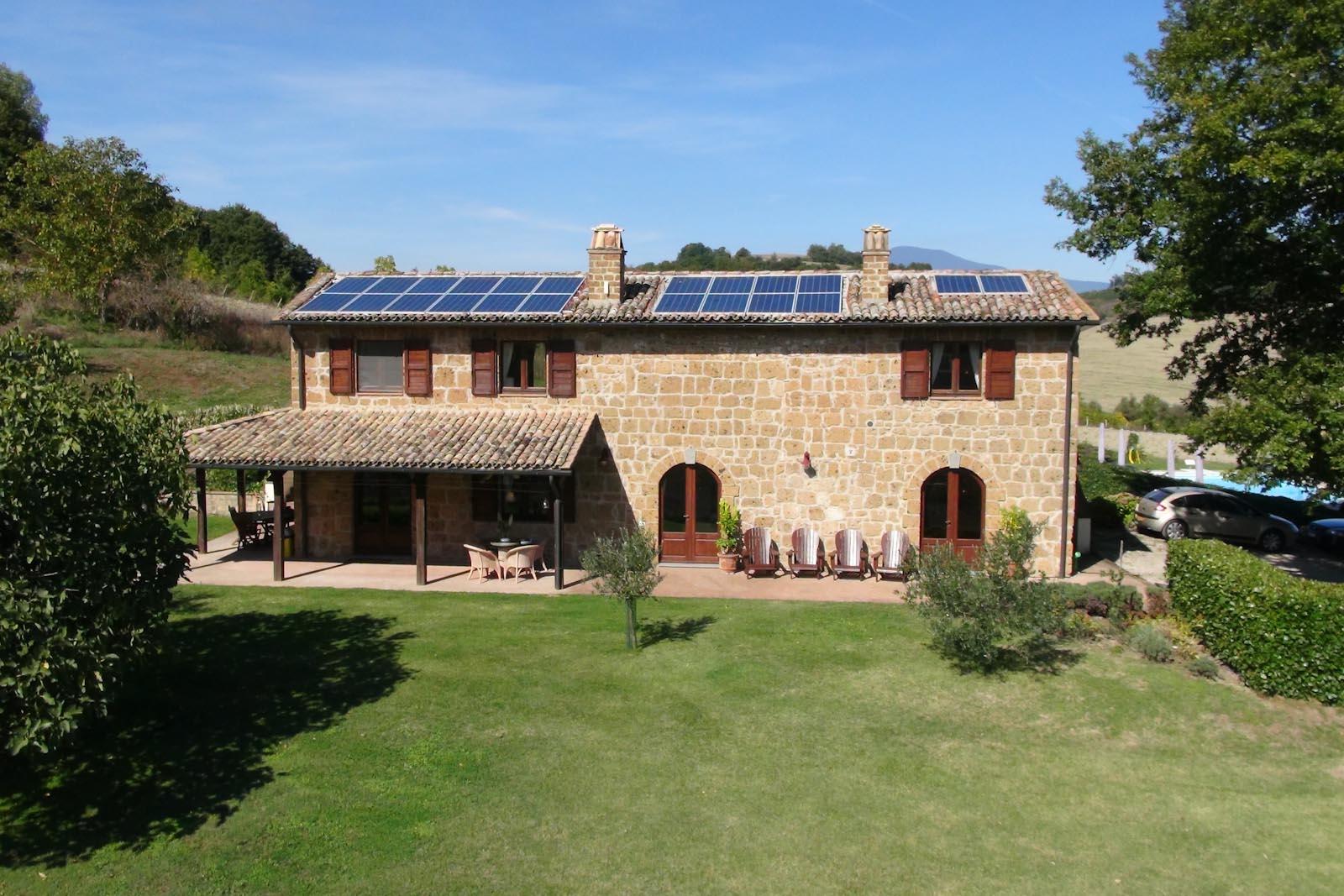 Residenza di campagna in vendita in italia lazio viterbo for Planimetrie della casa di transizione