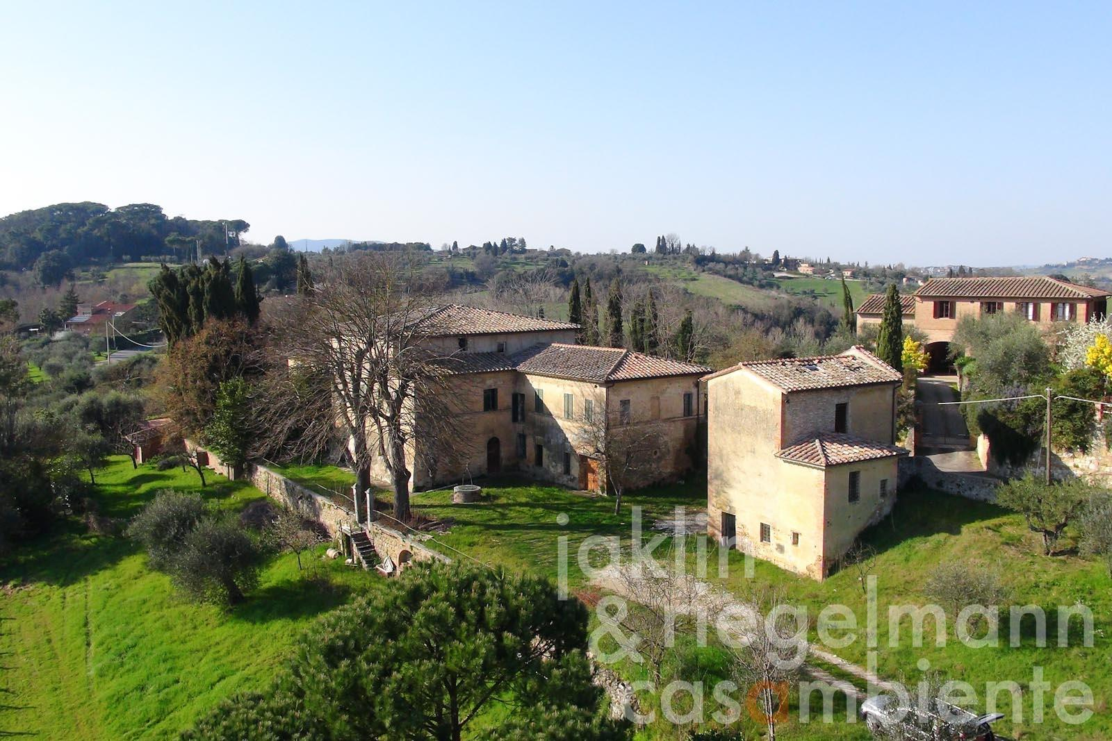 Villa in vendita in italia toscana siena villa toscana for Villas toscana