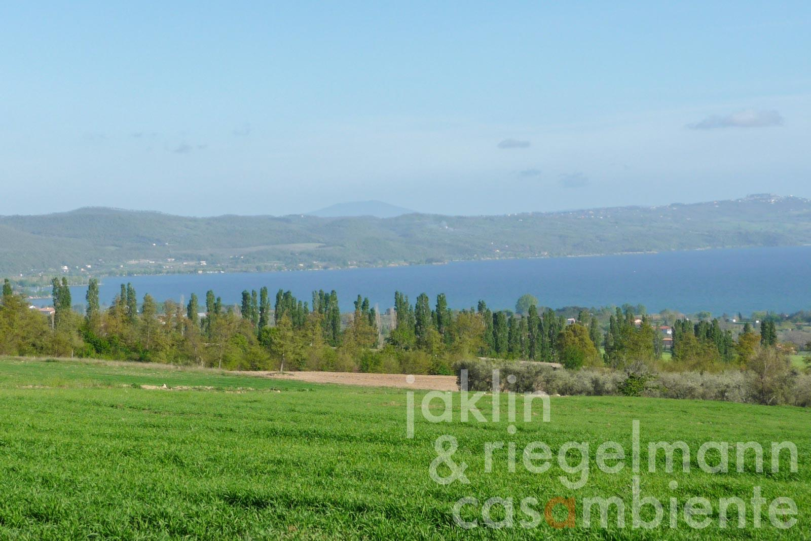 Development for an agriculture farm on Lago di Bolsena overlooking the lake