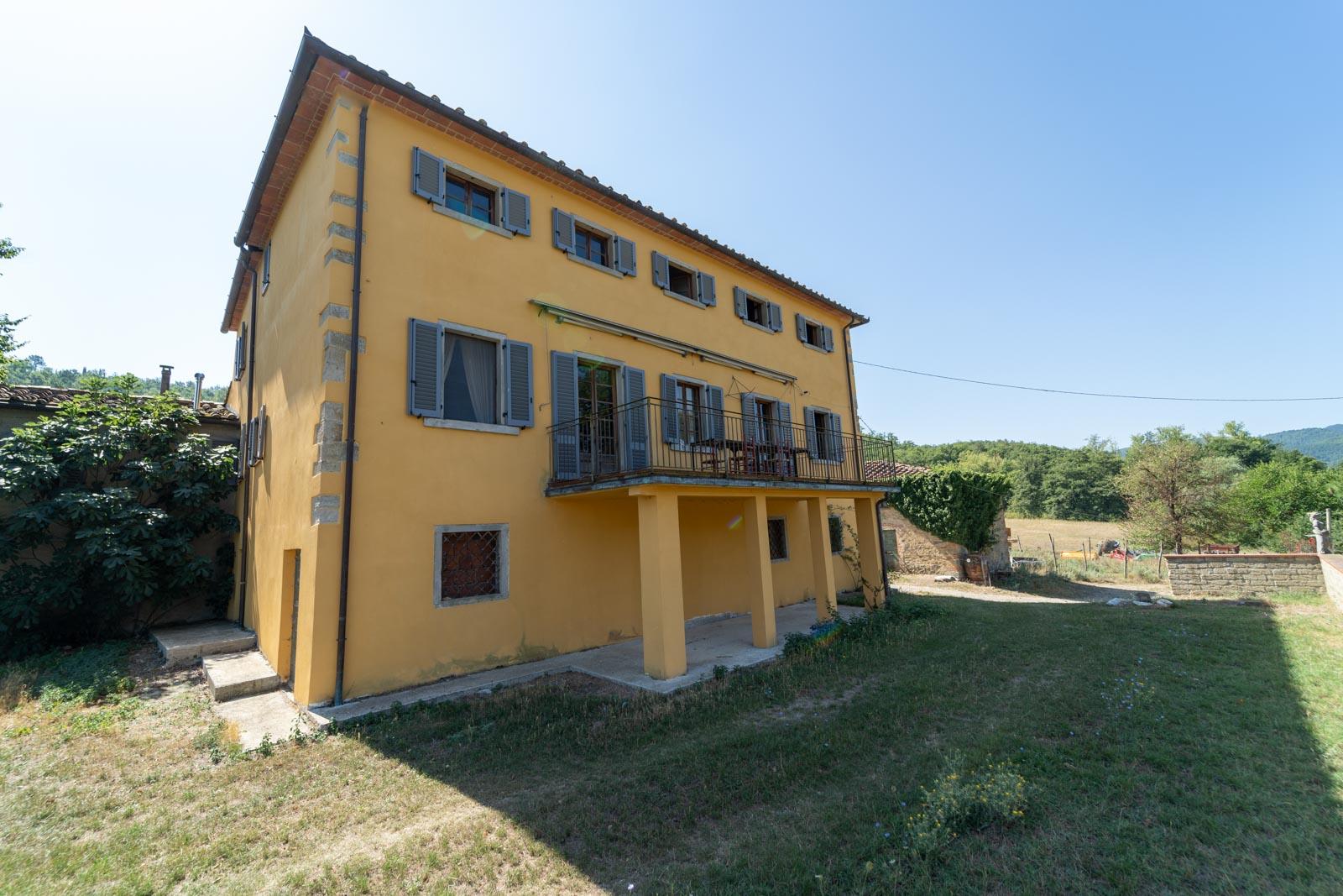 Bauernhof nahe Arezzo in der Toskana ideal für Pferdehaltung und Agriturismo