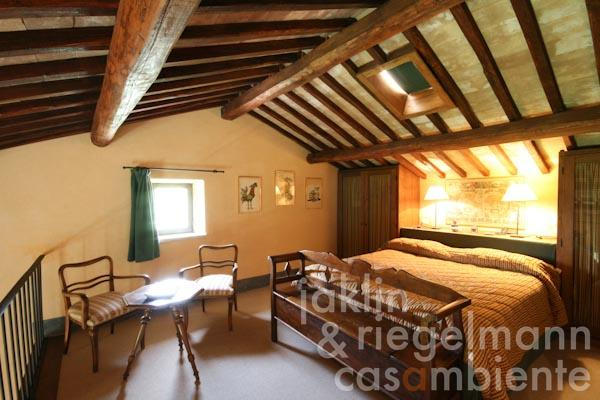 La seconda camera da letto al primo piano