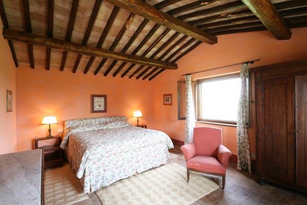 Eines der Schlafzimmer im Gästehaus