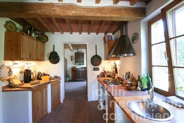 The kitchen in the country house