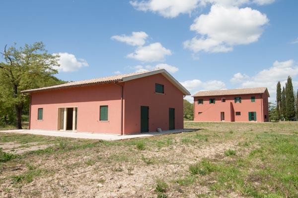 Das landwirtschaftliche Anwesen mit 2 Wohnhäusern