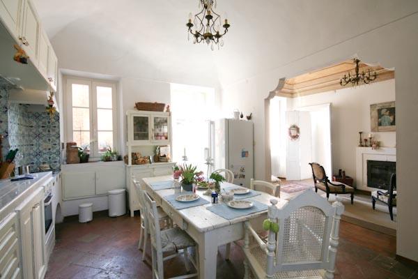 L'accogliente cucina abitabile