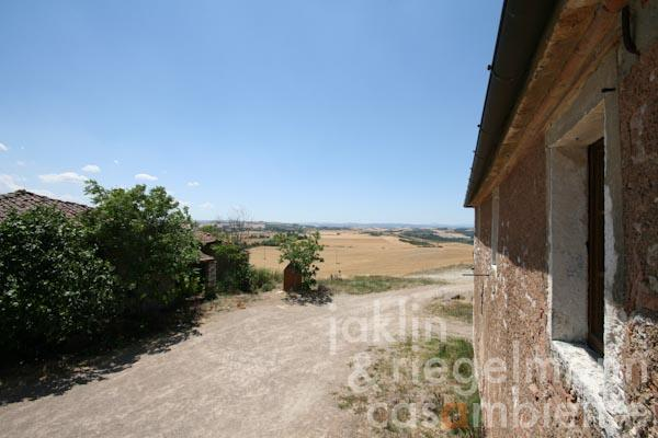 The magnificent panoramic views across the Crete Senesi