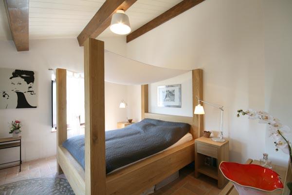 Una delle altre camere da letto al primo piano