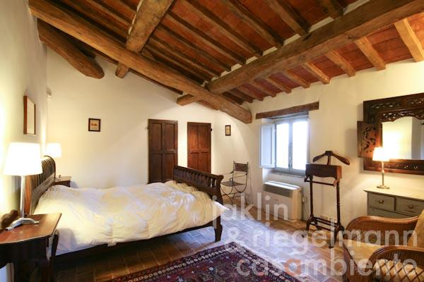 One of the bedrooms with en-suite bathroom on the first floor