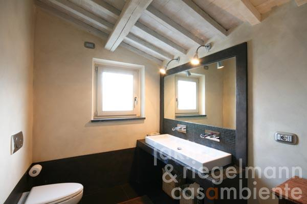 One of the en-suite bathrooms on the upper floor