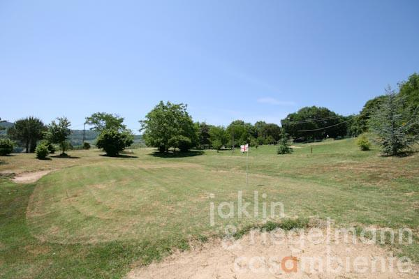 Der private Golfplatz