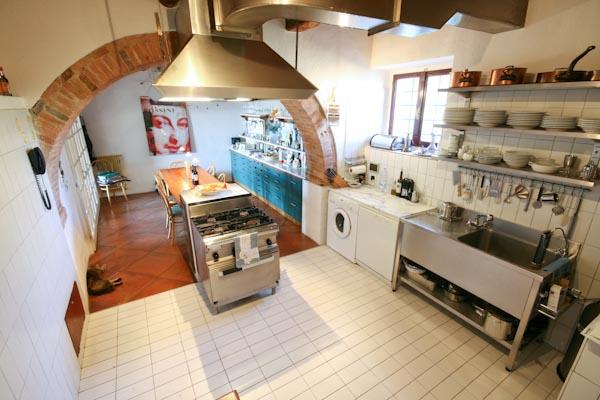 La cucina al piano terreno