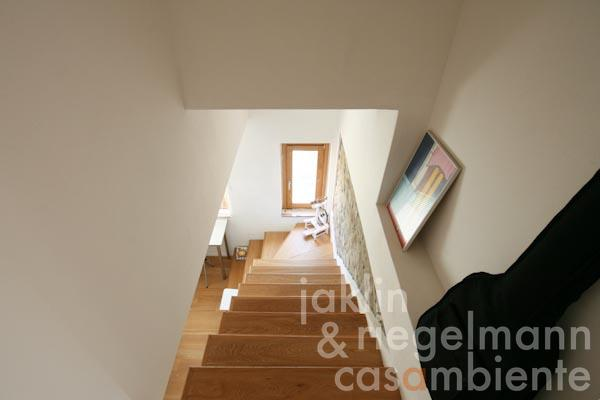 The stairs to the attic