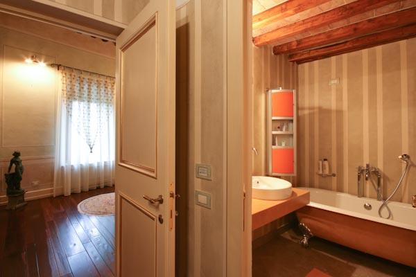 Una degli appartamenti per gli ospiti