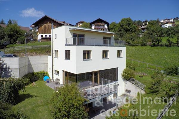 The sustainable and energy-efficient passive house for sale in a unique panoramic setting in South Tyrol