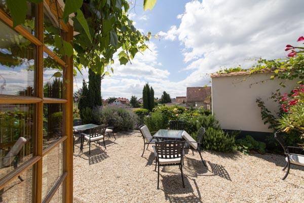 The Mediterranean country inn for sale on the German wine route in the Rhine-Neckar metropolitan region