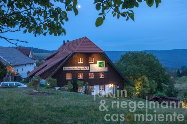 The forester's lodge and farm house for sale out of the 18th century in the border triangle at the foot of the Black Forest