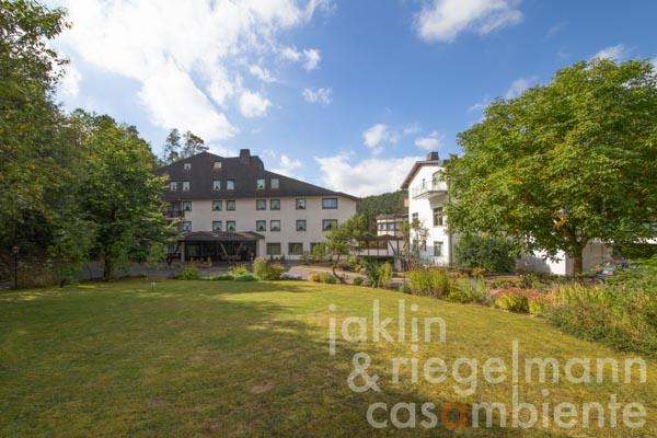 The German hotel for sale with restaurant and spa area next to an adventure park in the triangle Trier, Bitburg, Luxembourg