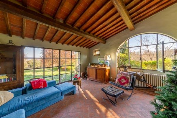 Toskanisches Landhaus mit 2 Wohnungen bei Figline Valdarno 25 km von Florenz